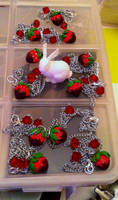 Strawberry and chocolate by anane