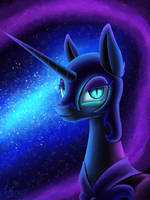 The Queen of Darkness by NightPaint12