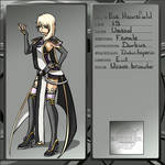 Bakugan Application Sheet: Eve Heartfield