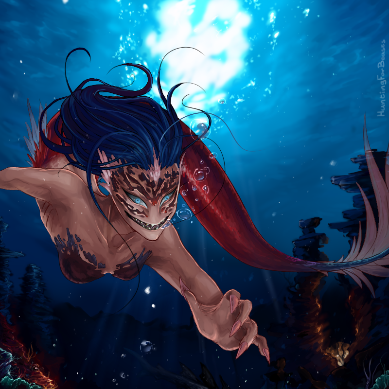 Under the sea by HuntingForBeasts