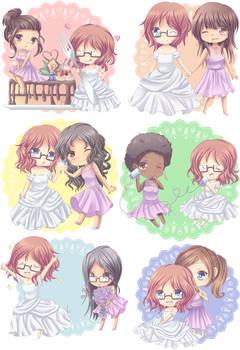 Wedding Chibis