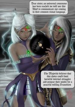 LUA - Chap 1, pag 1. Unus Mundus Siblings