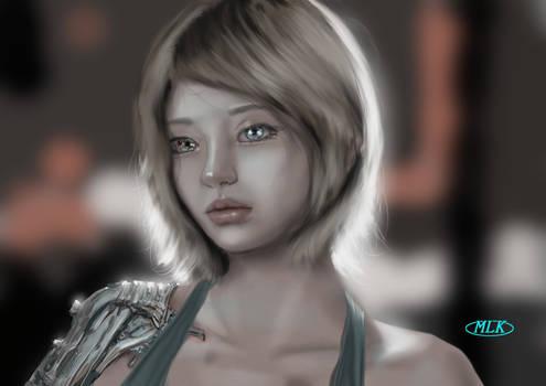 Study 19 - Marcie's portrait