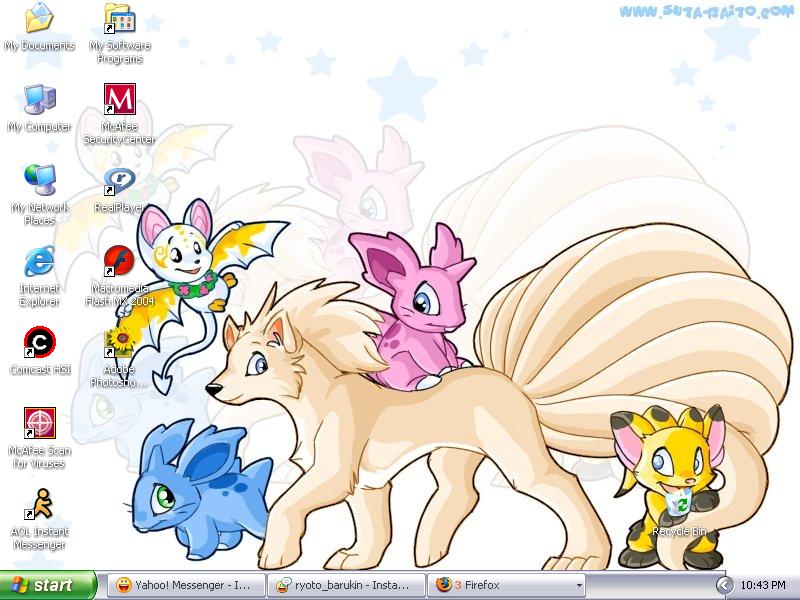 Desktop by AsleepbyDawn