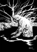 DSC: Swamp Thing by izitmee