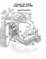 Things to avoid when you're on fire - 5 by izitmee