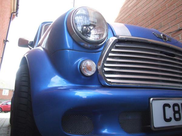 Classic Mini Cooper modified