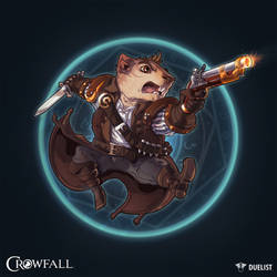 Crowfall Duelist Poster - Version B by PerfectDork