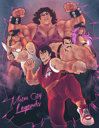 Final Fight Tribute - Metro City Legends by PerfectDork