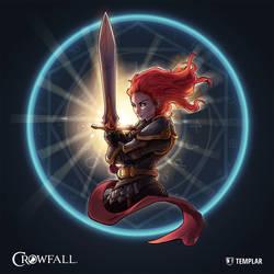 Crowfall Templar Poster by PerfectDork
