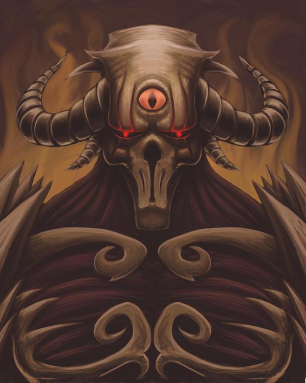 ♕ SPIRIT BRINGERS: EMPYREAN REALM. (SAGA DE BYNQUISTERR) - Página 3 Summoned_skull_by_kabalarts-d60thcw
