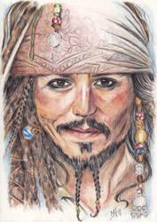 CAPTAIN Jack Sparrow by Kattvalk