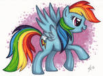 Rainbow Dash - Speed painting