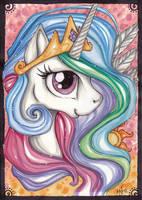 Princess Celestia by Kattvalk