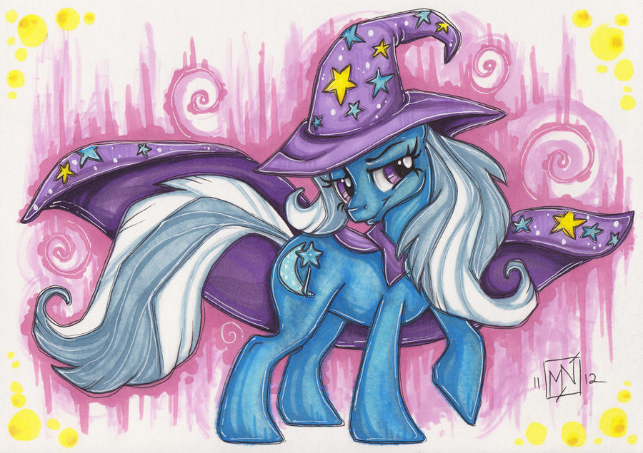 The Great and Powerful Trixie by Kattvalk