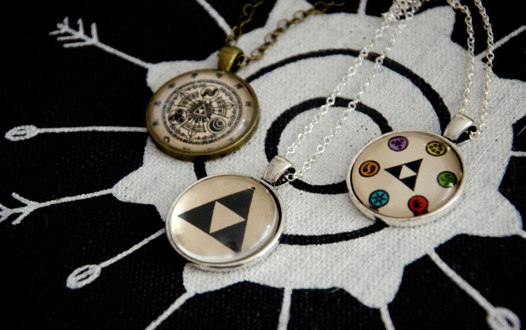 The legend of zelda inspired pendants by kattvalk on deviantart the legend of zelda inspired pendants by kattvalk aloadofball Choice Image