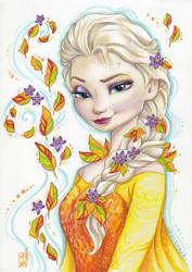 Autumn Elsa by Kattvalk