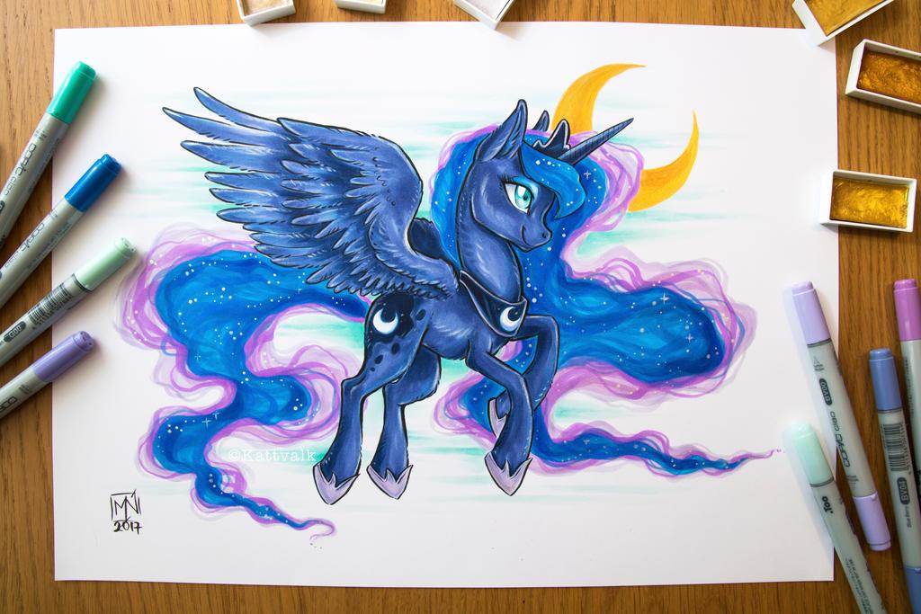 Princess Luna by Kattvalk