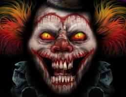Evil Clown by whammock