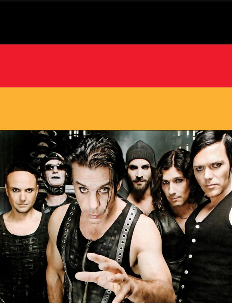 Rammstein Poster by MOTLEYLOMBAXCRUE666