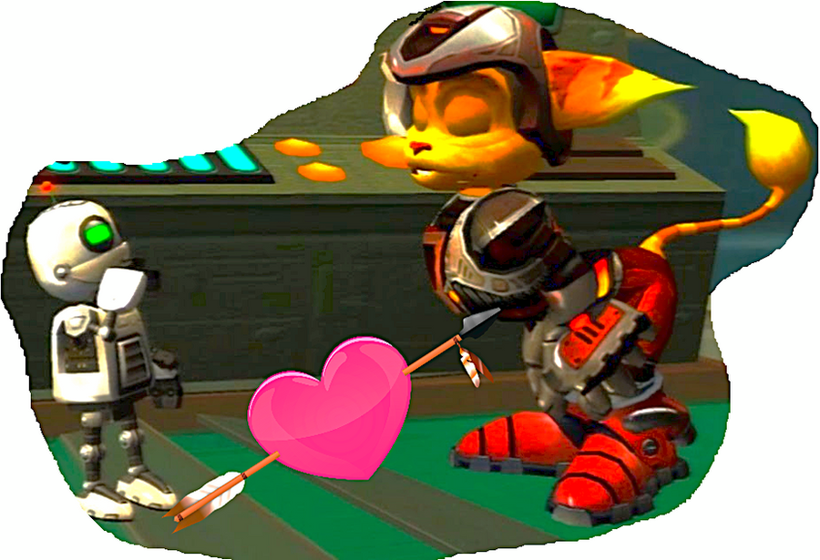 Ratchet x Clank by MOTLEYLOMBAXCRUE666