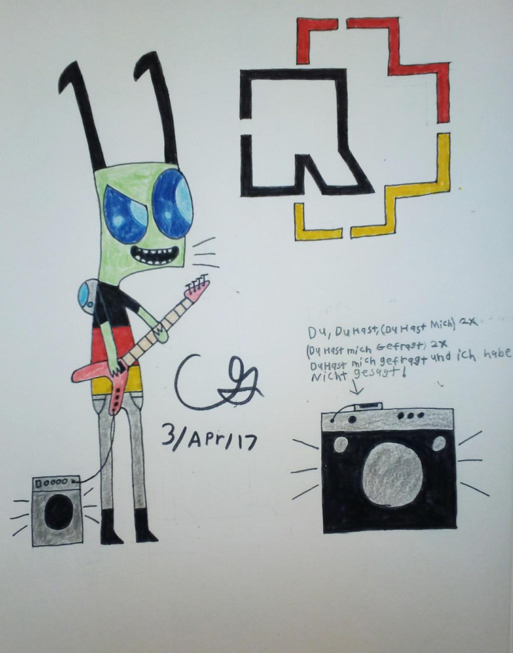 Stein Jaming out to Rammstein - Du Hast!!! by MOTLEYLOMBAXCRUE666