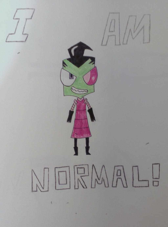 I am totally, 100% Normal! by MOTLEYLOMBAXCRUE666