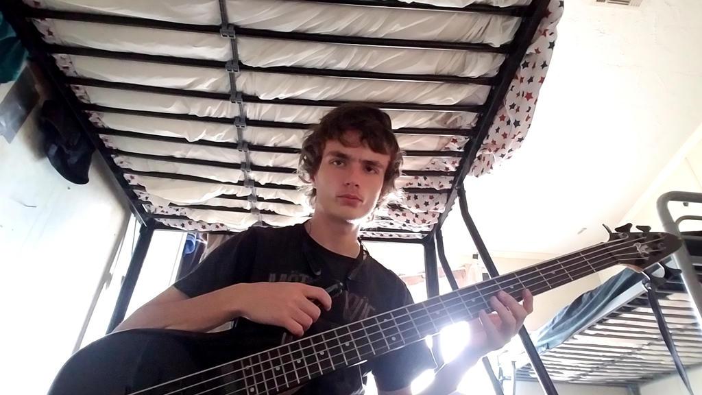 New Bass Strings!!! by MOTLEYLOMBAXCRUE666