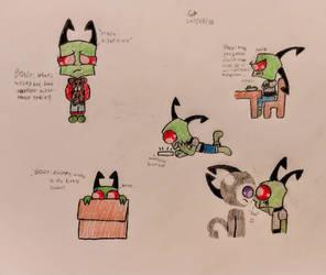 More doodles of the little man. by MOTLEYLOMBAXCRUE666