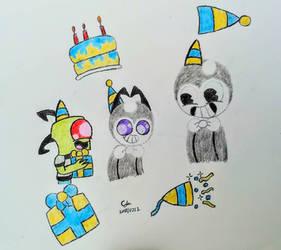 Happy birthday Benjy!!! by MOTLEYLOMBAXCRUE666