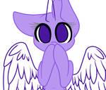 Mlp Base : Shy Pony (OLD OLD OLD) by DemiM0n