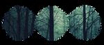 Divider F2U - Dark Forest by DemiM0n