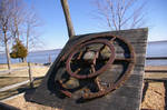 Old Iron Pulley Wheel