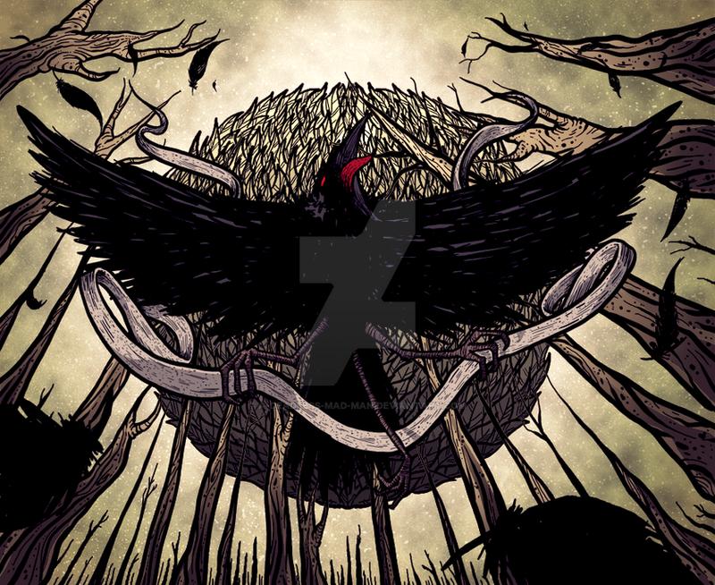Yatagarasu, the Dark Sun by A-Deadless-Mad-Man