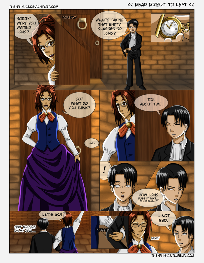 LeviHan - OTP Challenge - Formal Wear by The-Phisch