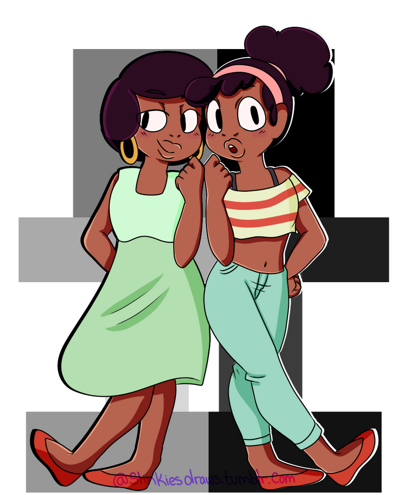 SU Kiki and Jenny by StinkiesDraws