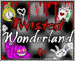 Twisted Wonderland Stamp by azuna10