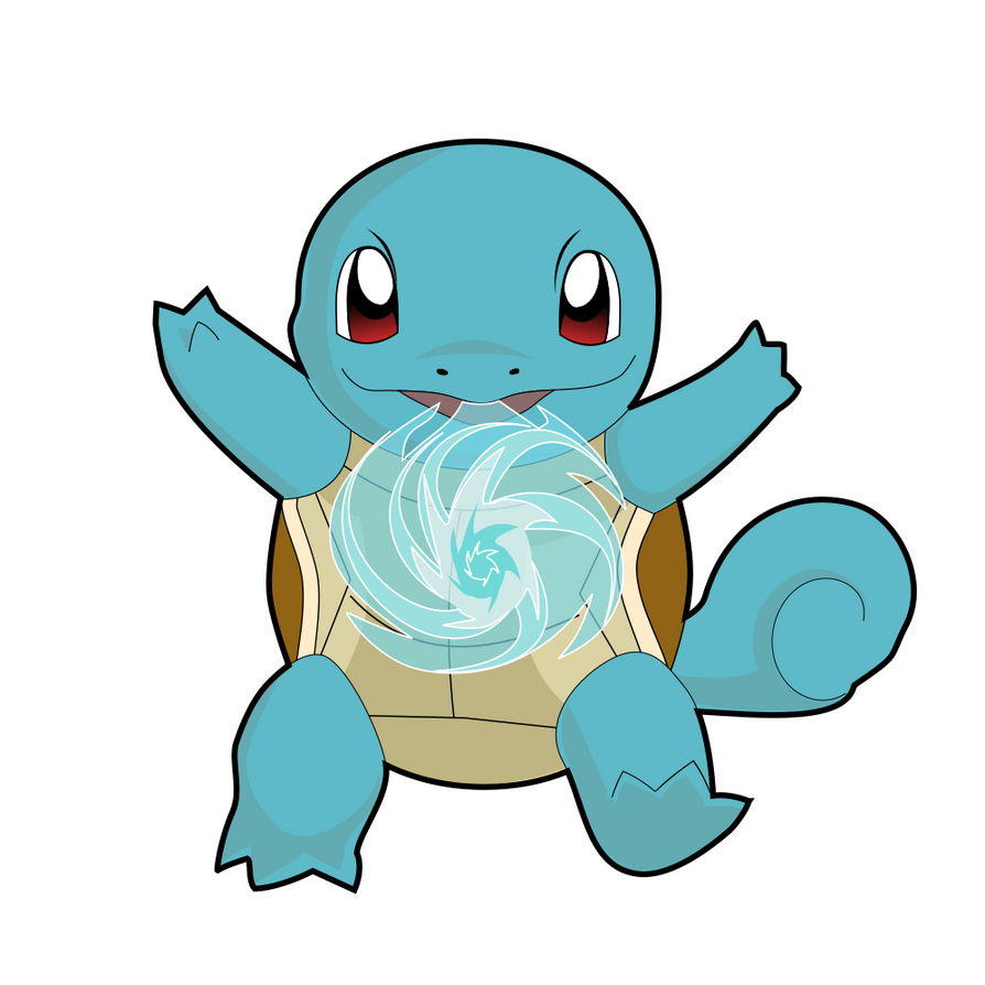 Carapuce / Squirtle (Vector Inkscape) by J-Joker