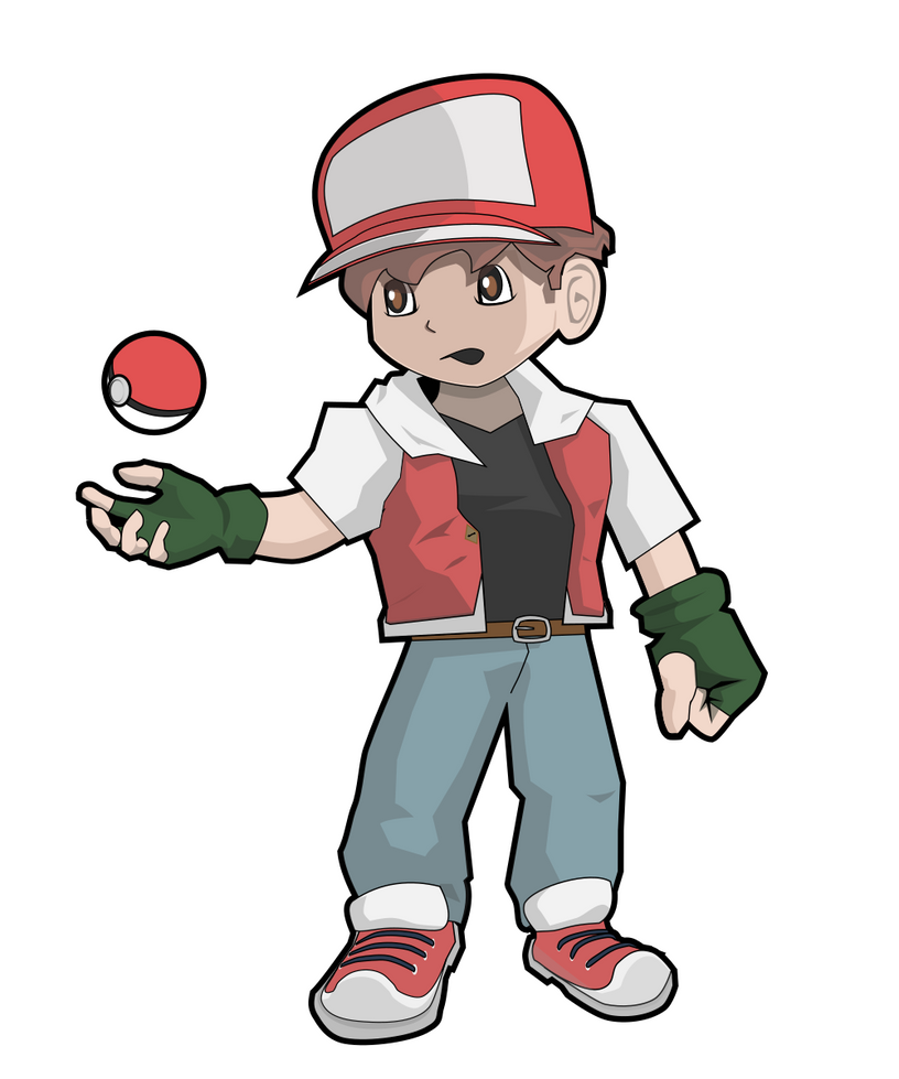 Dresseur Red / Trainer Red by J-Joker