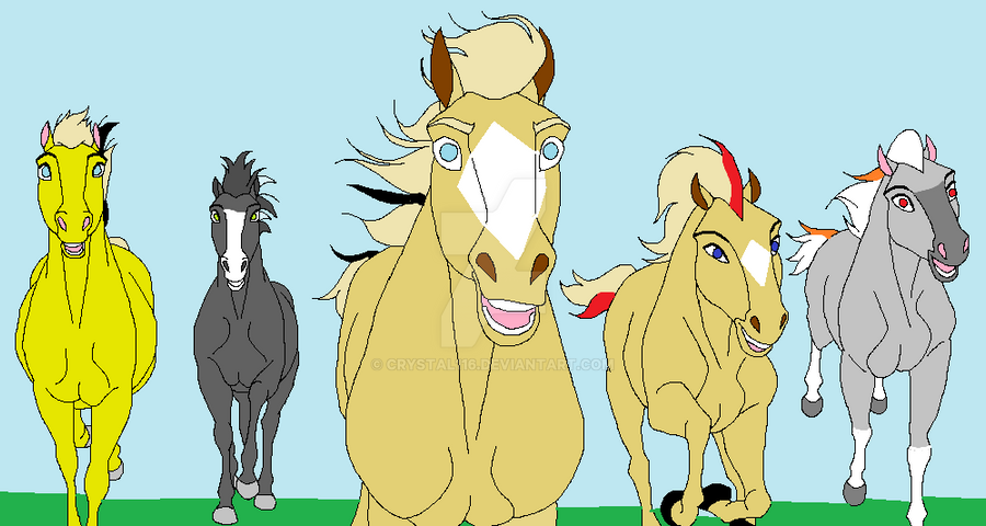 jimber and some of the horseland herd by crystal116 on