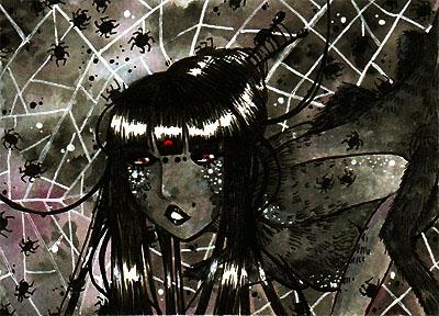 Mama Spider by Pumpkin-Cat