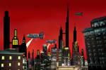 Metro City Skyline