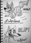 wags and blip