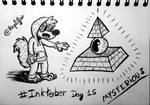 Inktober Day 15 : MYSTERIOUS
