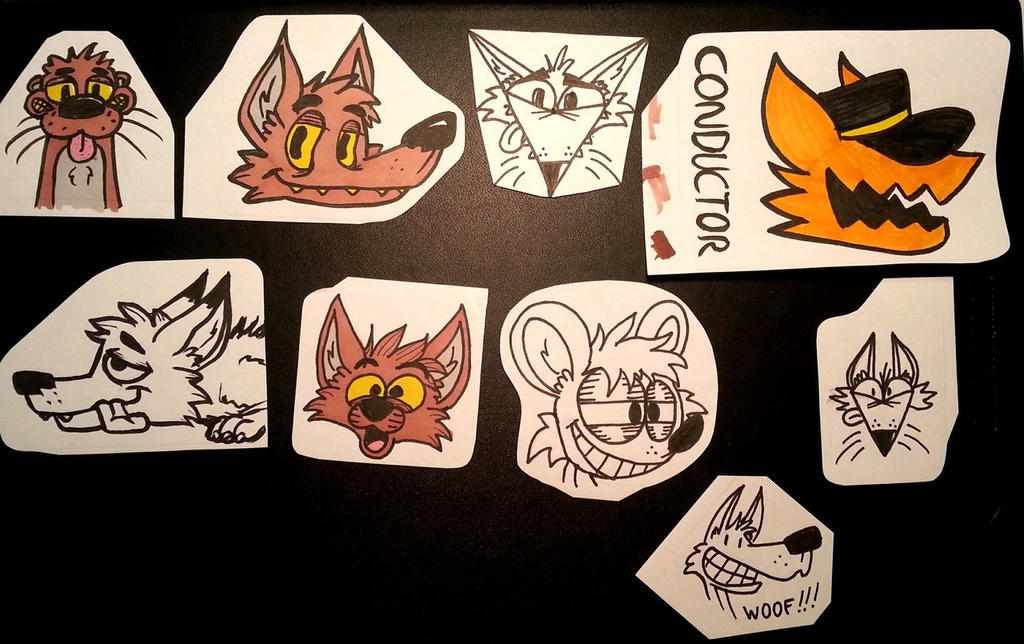 Today stickers (traditional) by reptifur