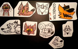 Today stickers (traditional)
