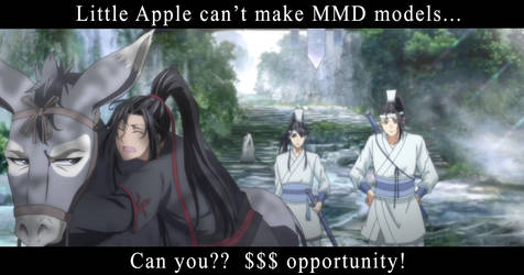 MMD model commission request!! MDZS characters!!
