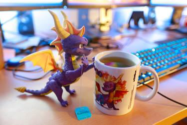 Spyro the Tea Dragon