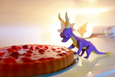 Spyro the cake dragon