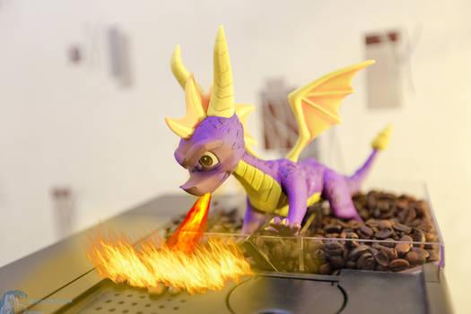 Spyro the Coffee roast Dragon